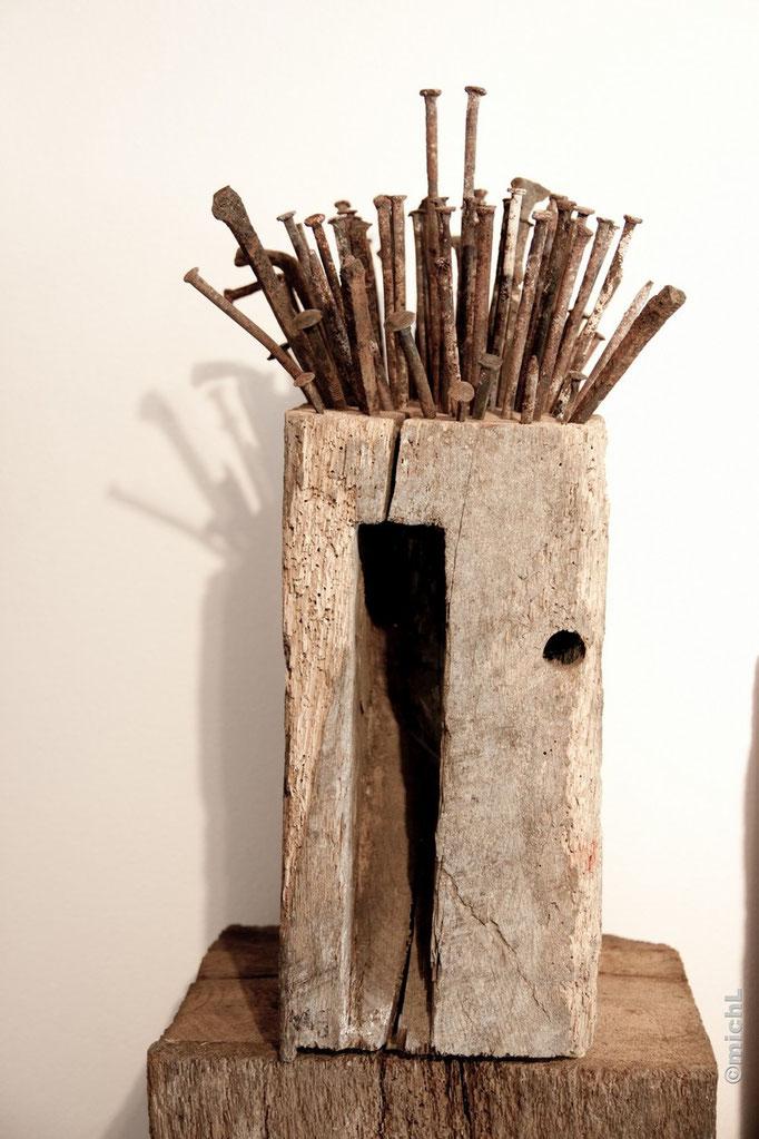 Têtes dures / Bois et acier  © Michel LAURENT / MichL
