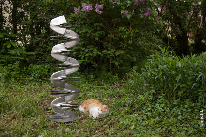 Ssssculpture / Acier  © Michel LAURENT / MichL