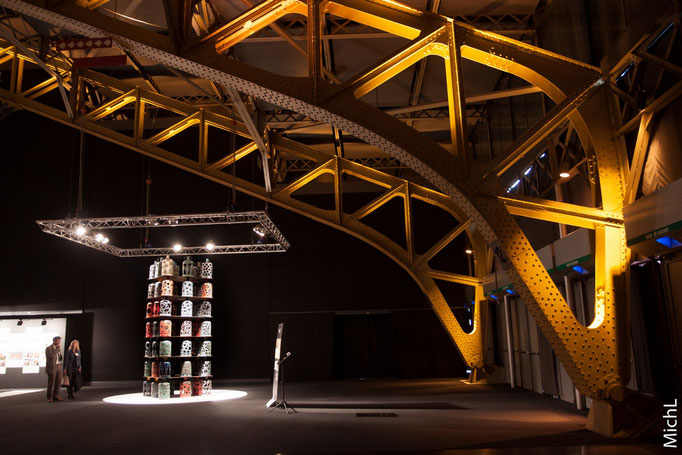 Sur le salon Architect@work Lyon Halle Tony Garnier (2 et 3 juin 2016) © Michel LAURENT (MichL)