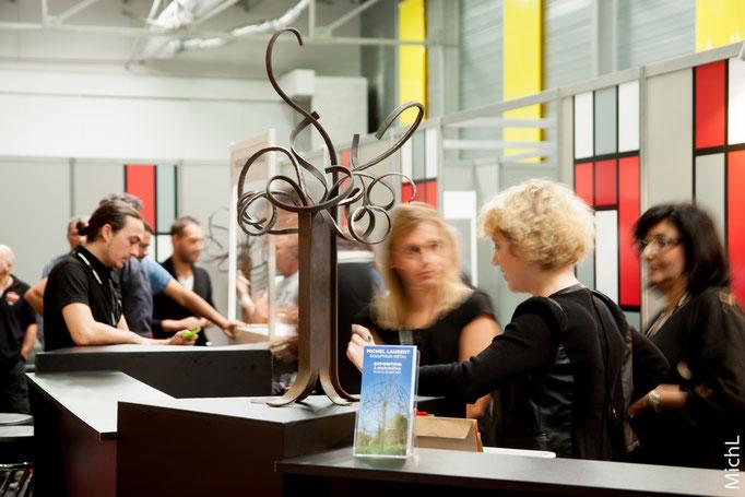 Exposition en partenariat avec le salon Micronora (Besançon, sept 2016) © Michel LAURENT (MichL)