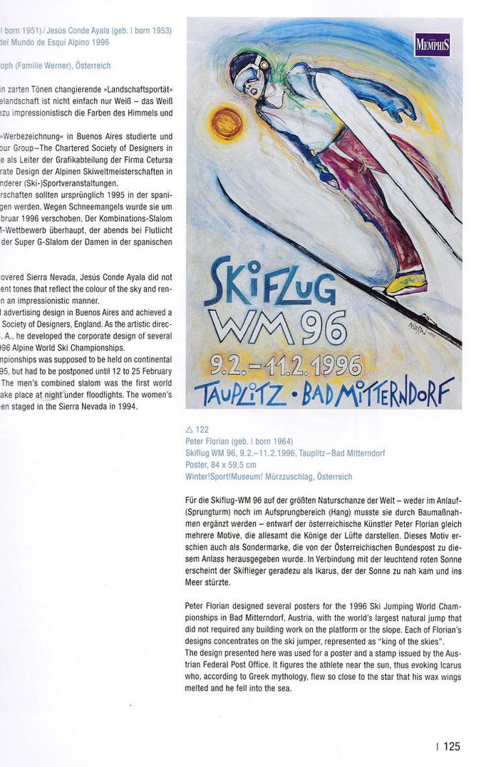 """Abbildung im Buch  """"Skisport in Kunst und Design"""" Karin Rase 2009"""