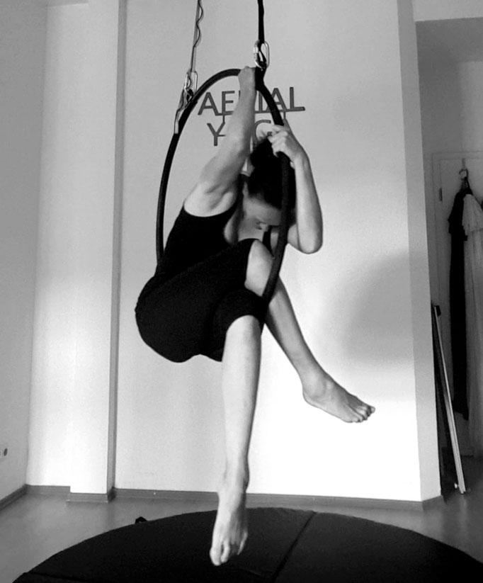 AERIAL Hoop, Aerial Yoga in Schleswig Holstein, nahe Sankt Peter Ording SPO, Entspannung, Yoga, Fitness auf Eiderstedt, Atemübungen