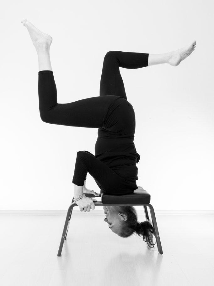 FeetUp - Yoga bei ProMentalis Garding, nahe Sankt Peter Ording. Umkehr leichter gemacht