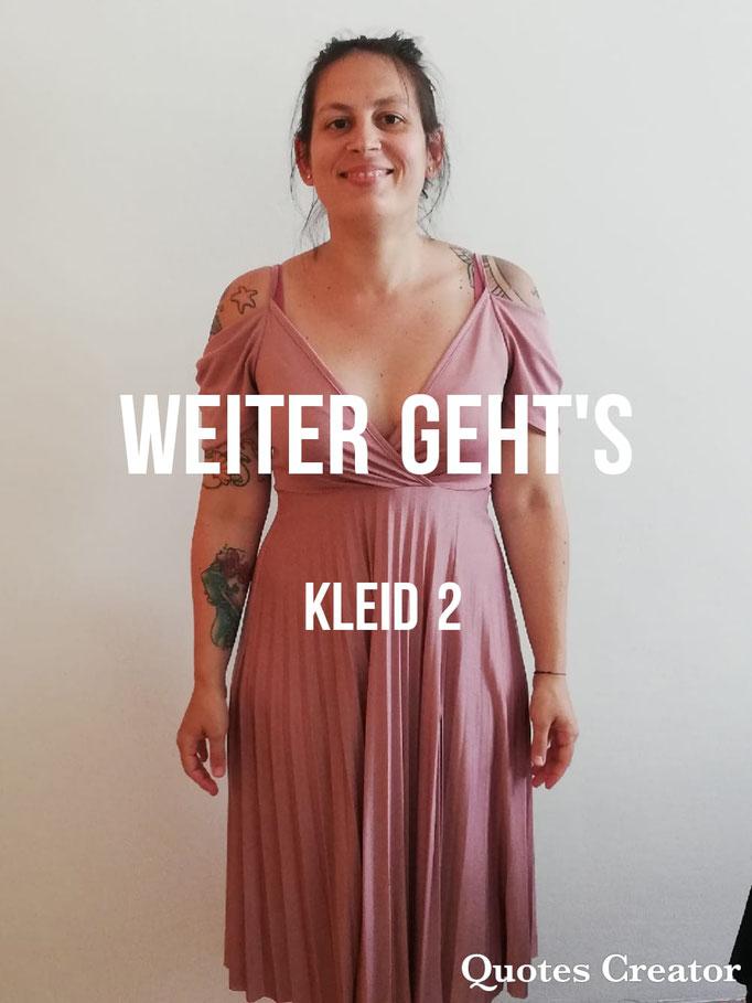 Spannende Fotoserie zu Kleidergrößen plus persönliche Modenschau von Andrea Haberl