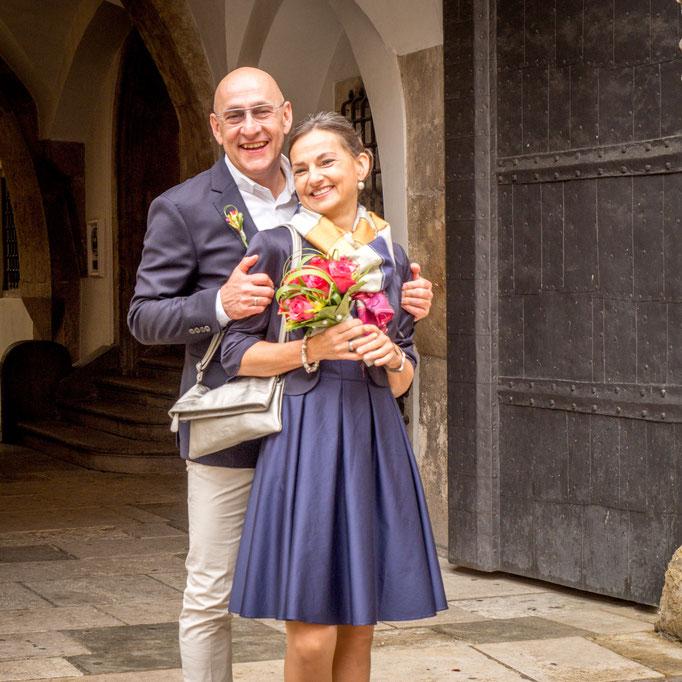 Romatisches Hochzeitsshooting fotografiert von Das Fotoatelier Regensburg - Fotograf Regensburg
