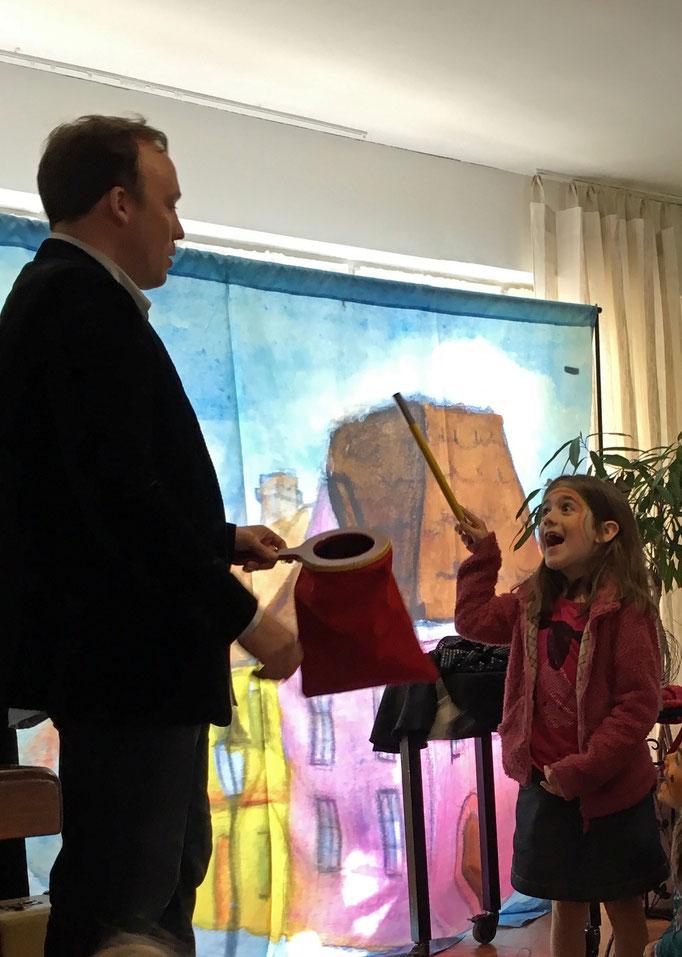 Participation magique à un anniversaire pour enfant à Tours, Indre et Loire