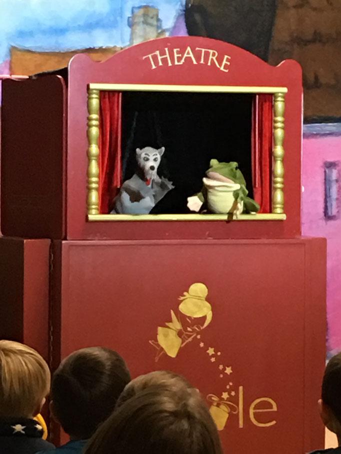 La Grenouille à Grande Bouche, spectacle de marionnettes à Tours, Indre et Loire