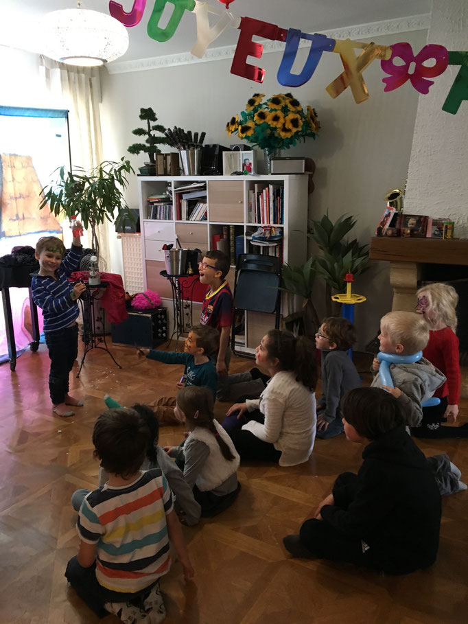 Petit apprenti magicien à Tours, Indre et Loire