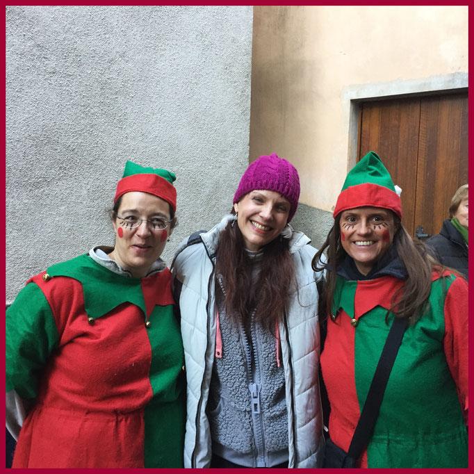 Triulala con due elfi