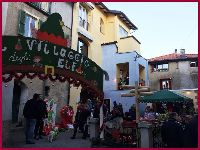 Mercatino natalizio di Curio Villaggio degli Elfi