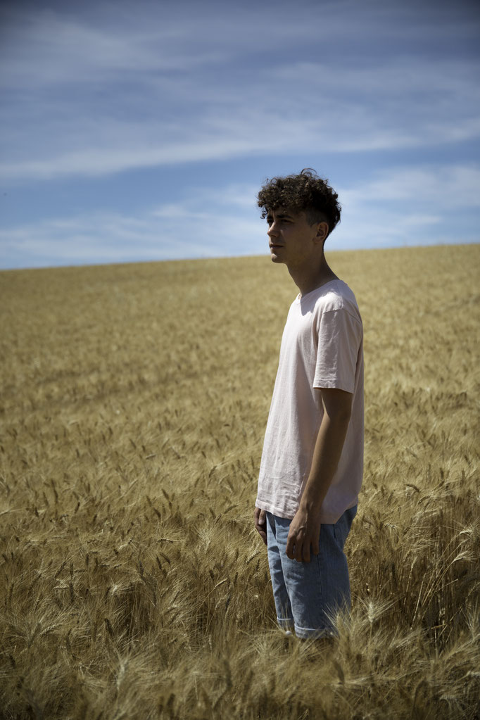 Pol in Valensole, France.