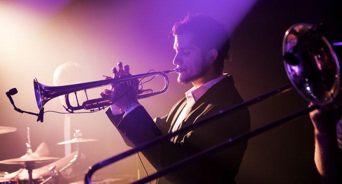 Arnau at the Drop Collective concert in La Nau, Barcelona.