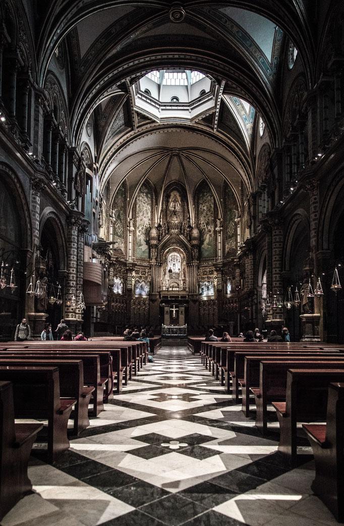 Santa Maria de Montserrat Abbey.