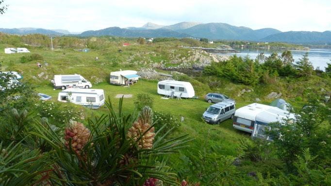 Camping Lyso bei Storsandoya