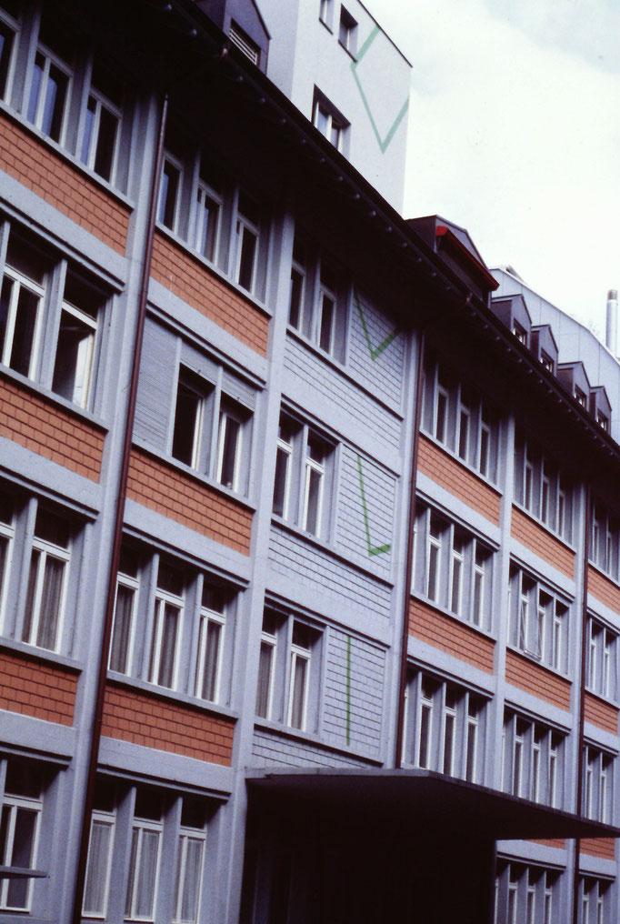 Neuweg 10 Luzern, Fassade, 1993