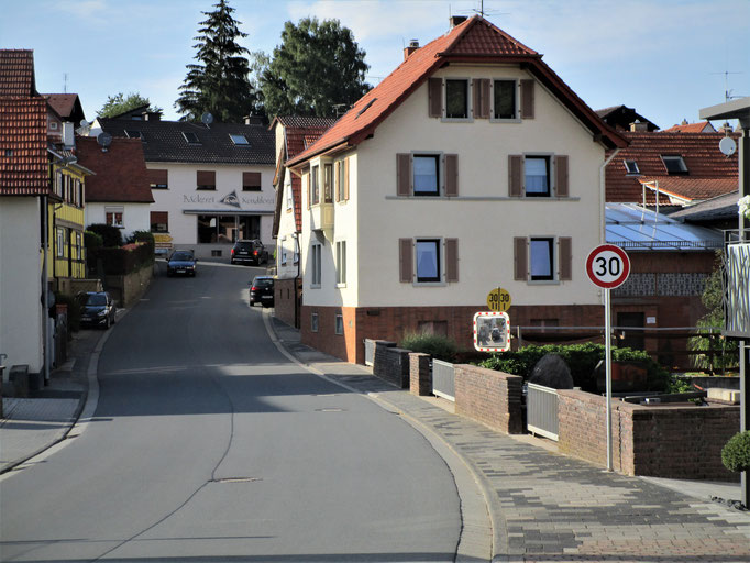 Tempo 30-Zone in der Brunnenstraße