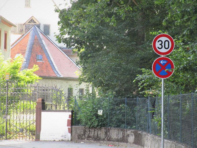 Tempo 30-Zone in der Bahnhofstraße