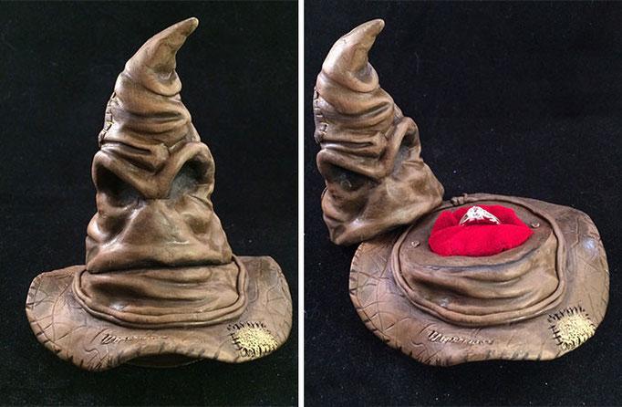 En un sombrero de bruja