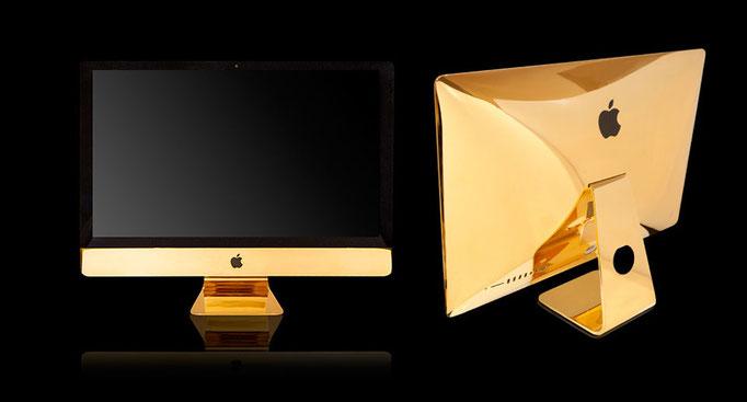 24K Gold iMac 27 inch 5k