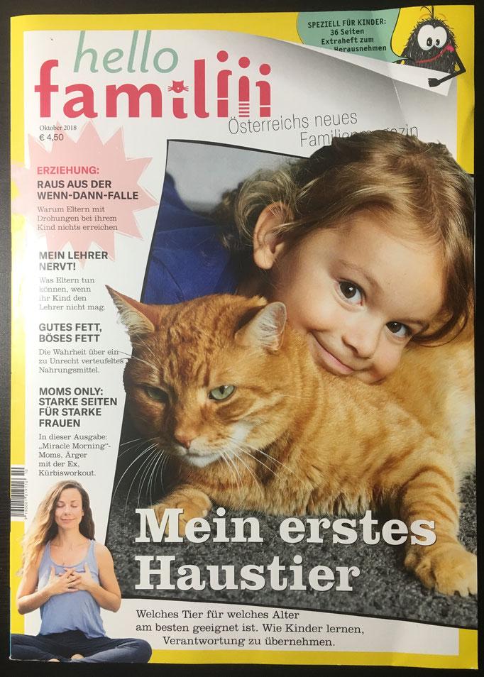 Ausgabe Oktober 2018, Artikel: Sabine Standenat
