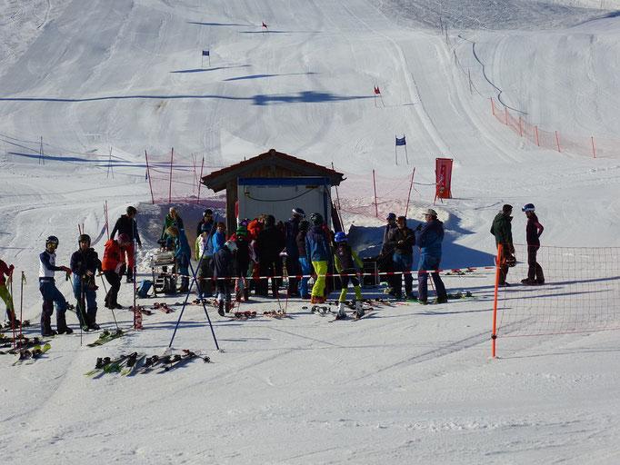 Vereinsmeisterschaft SV DJK Heufeld - Skiteam am Waldkopflift im Sudefeld 2019