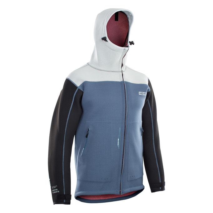 Neo Shelter Jacket Amp STeel Blue White Black