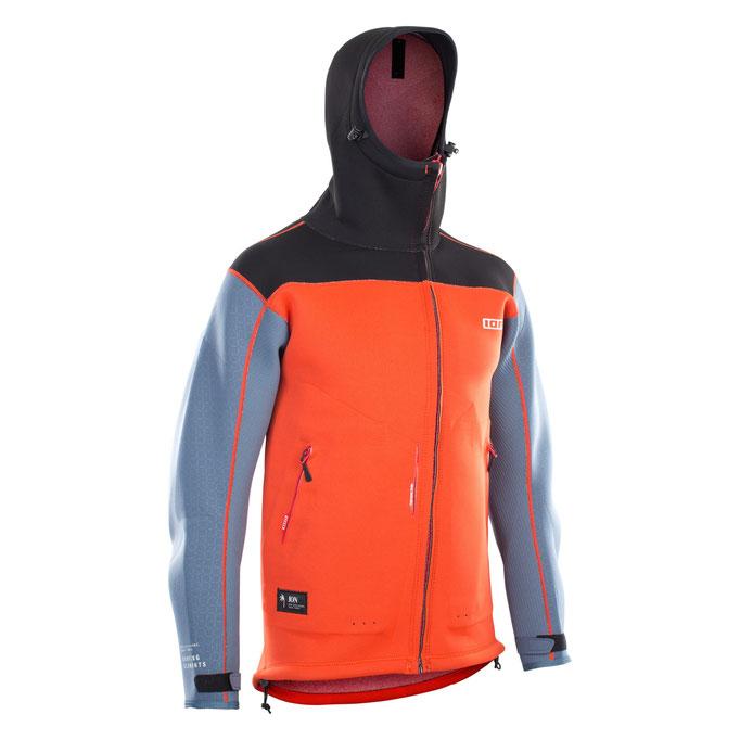 Neo Shelter Jacket Amp Red Steel Blue Black