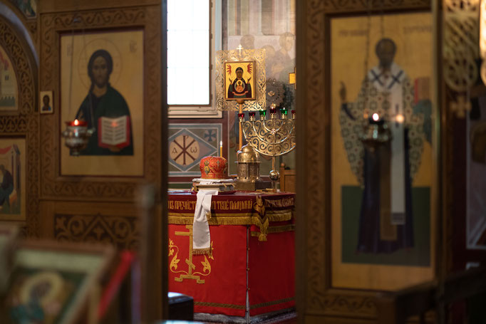 Russische Orthodoxe Taufe in Frankfurt am Main, Offenbach, Wiesbaden, Mainz, Bad Homburg und Darmstadt fotografieren oder filmen lassen