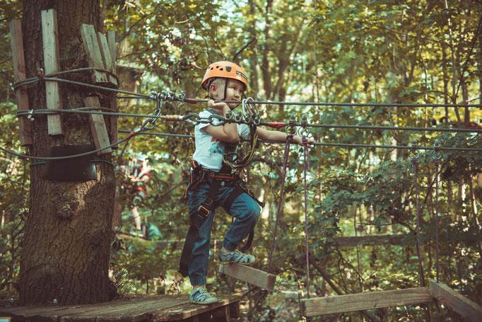 Bewegungen des Kindes aus unterschiedlichen Perspektiven fotografieren