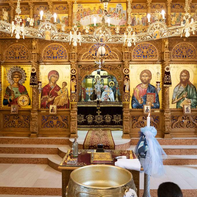Professioneller Fotograf und Videograf für Serbische Orthodoxe Taufe in Frankfurt am Main, Offenbach, Wiesbaden, Mainz, Bad Homburg und Darmstadt