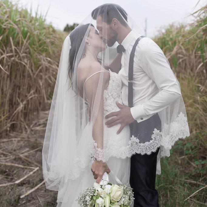 Fotograf in Bingen am Rhein für Hochzeitsfeier auf russisch wie in der Sowjetunion