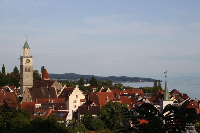 Blick über Überlingen am Bodensee