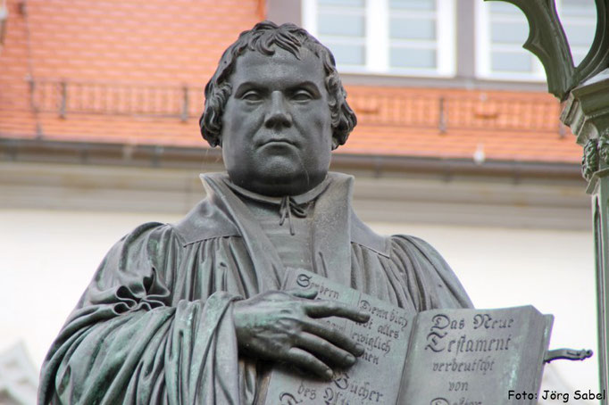 Martin Luther-Denkmal in Wittenberg