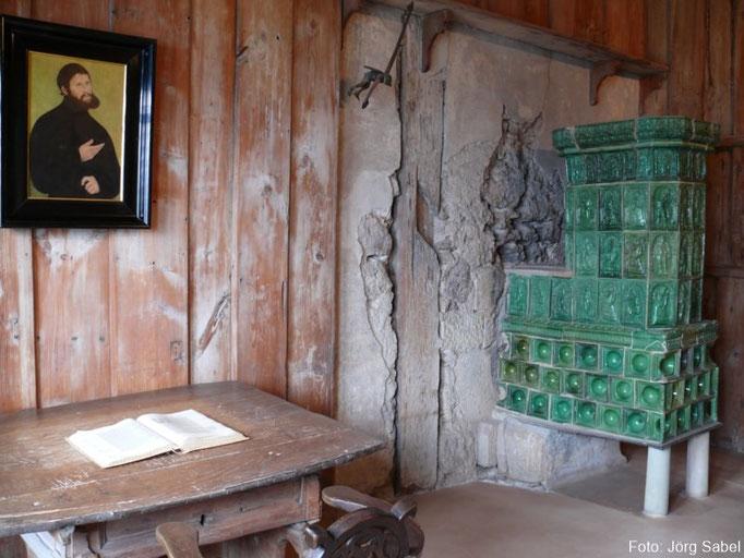 Die Lutherstube auf der Wartburg