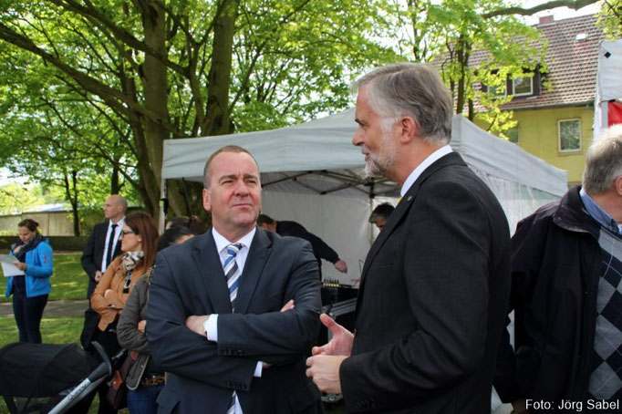 Innenm. B.Pistorius und der OB von Osnabrück W.Griesert