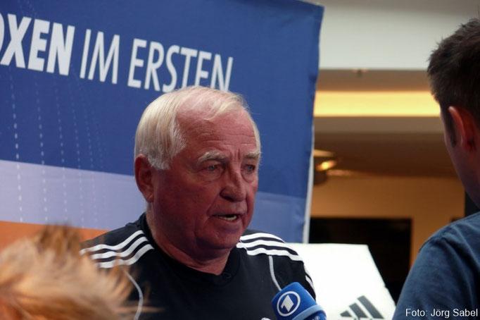 Boxtrainer Ulli Wegner