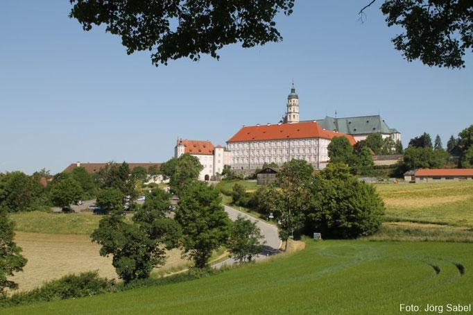 Die Abtei in Neresheim