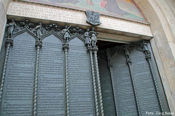 Die Thesentür in Wittenberg