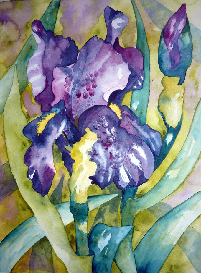 Fleurs site de isalol aquarelle for Site de fleurs