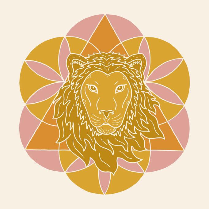 Logo Design for Stretching Lion Yoga