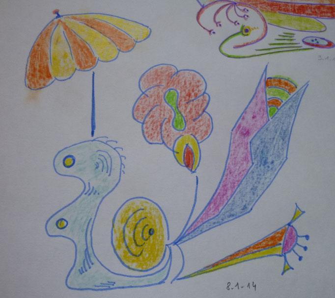 Fleur Escargot