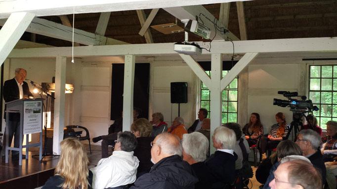 Seekamp-Lesung 16.07.17 / Foto: Wolfgang Brammen