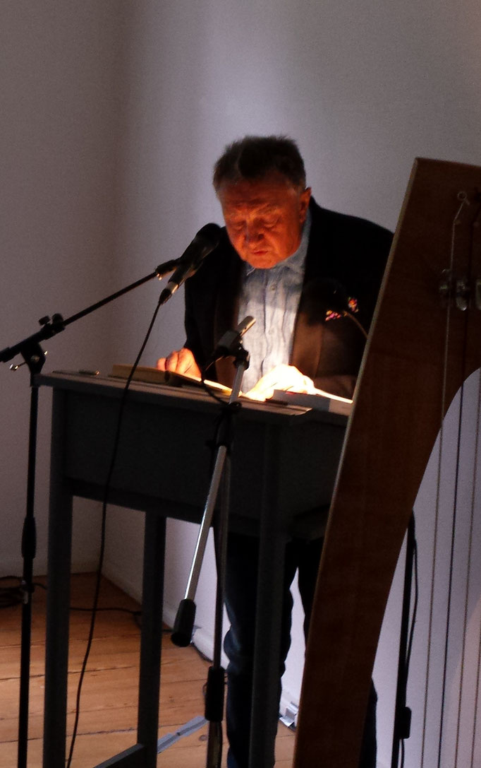 Schweikert-Lesung 09.10.16 / Foto: Wolfgang Brammen