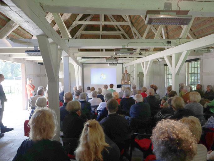Seekamp-Vortrag Professor Dr. Auge / 02.09.18 / Foto: Jens Jacobus