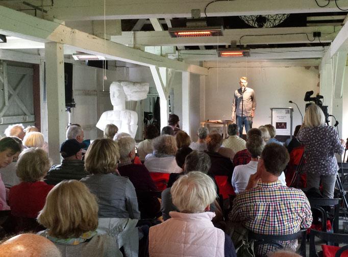 Slam-Poetry auf Seekamp 14.05.17 / Foto: Wolfgang Brammen