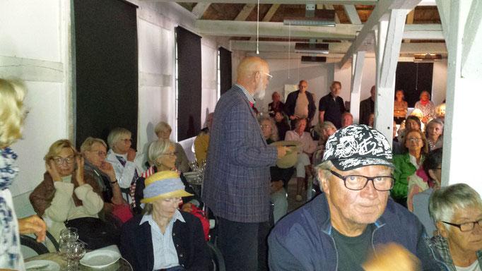 """Film-Vorführung Seekamp 03.07.19 """"Die Duwes - eine Künstlerfamilie"""" / Foto: Wolfgang Brammen"""