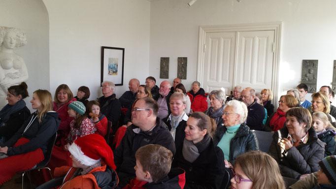 Herdmann-Lesung 13.12.15  Foto: Wolfgang Brammen