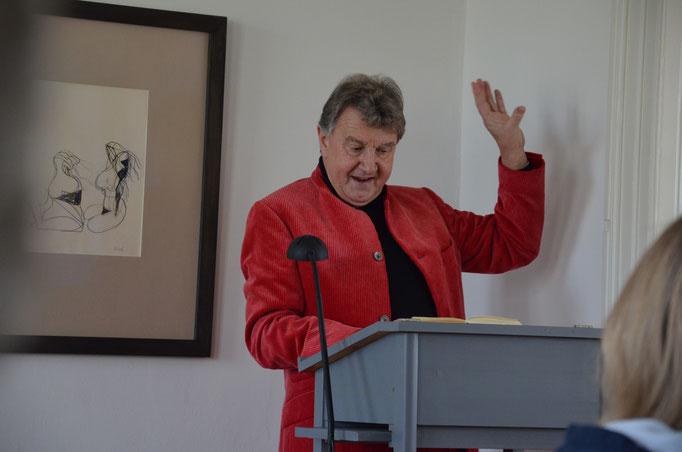 Herdmann-Lesung 13.12.15  Foto: Dr. Dieter Wöhlk