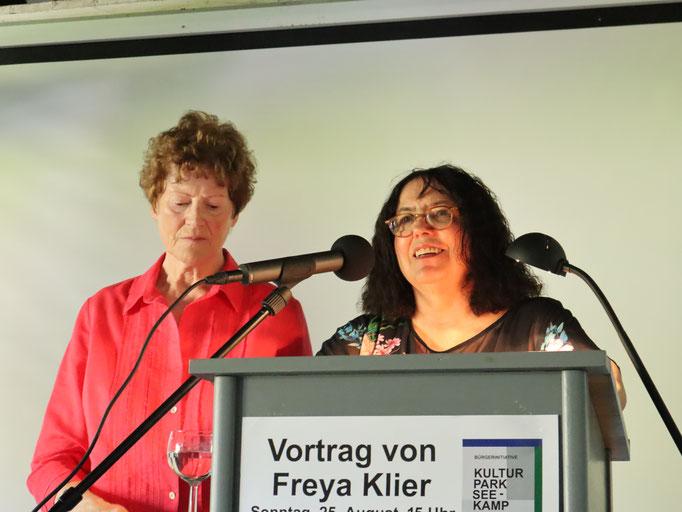 Vortrag Freya Klier 25.08.19  Gut Seekamp  Foto: Jens Jacobus