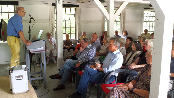 Jenisch-Vortrag Haus Forsteck Seekamp 18.08.18  Foto: Wolfgang Brammen